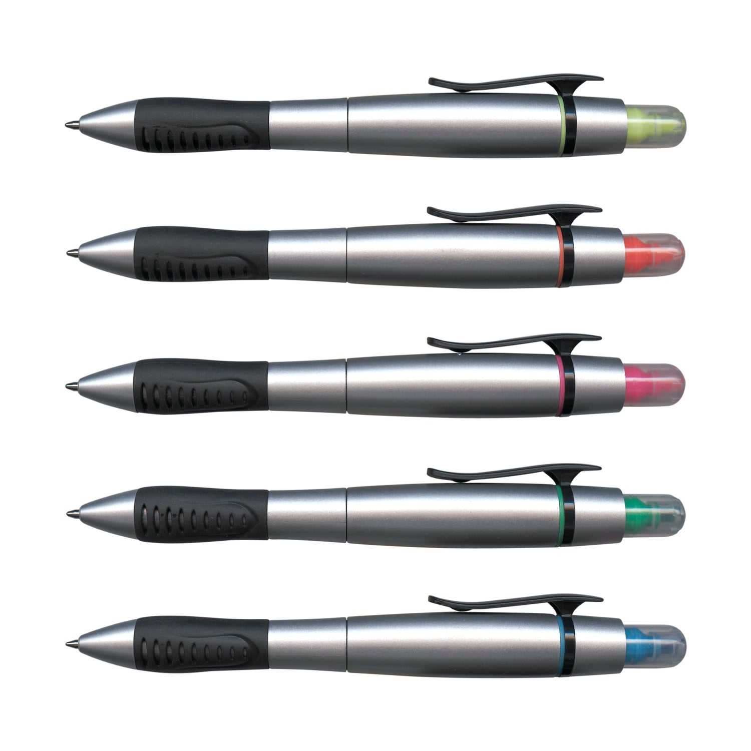 Stock Duo Pen with Highlighter(SP-72T) - greenpac.com.au
