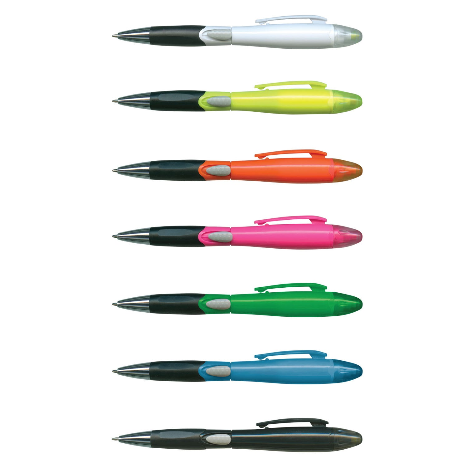Stock Blossom Pen With Highlighter(SP-71T) - greenpac.com.au