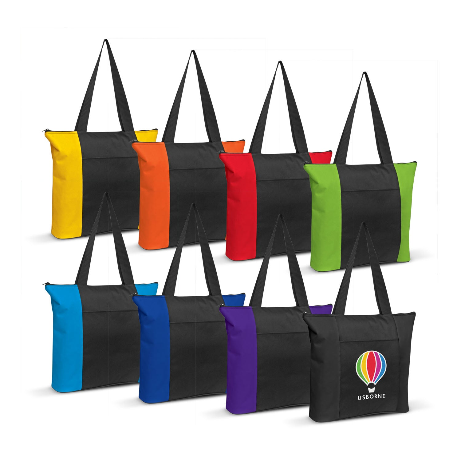 Stock Nylon Shoulder Tote(SNB-88T) - greenpac.com.au