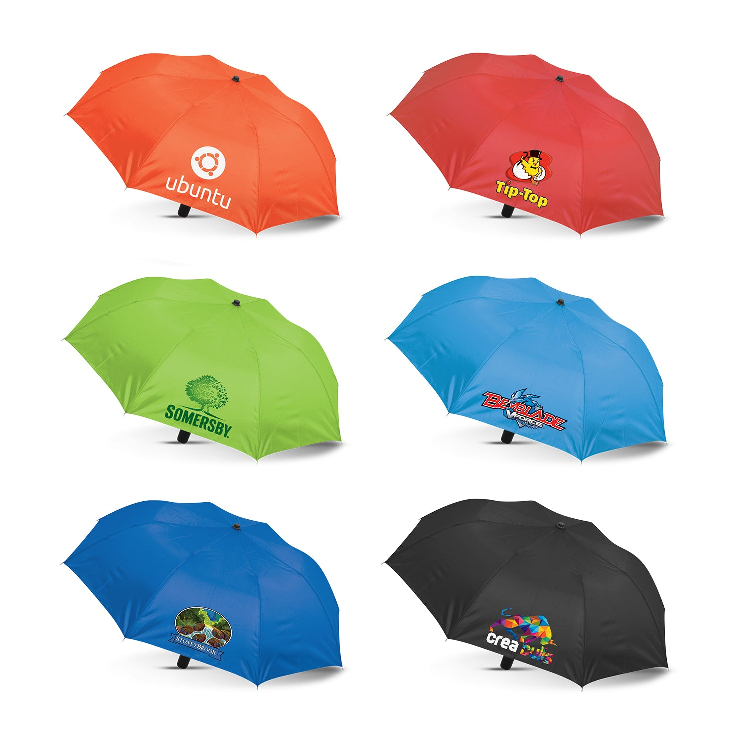 Budget Foldable Umbrella(SUM-01T) - greenpac.com.au