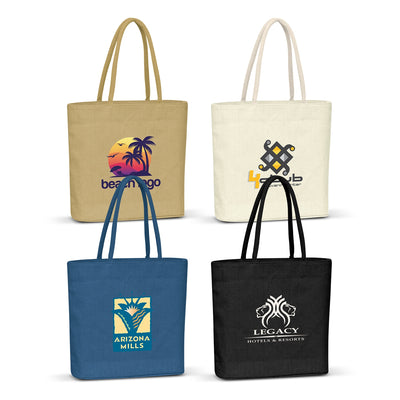 Stock Jute Carry Bag-Coloured(SJB-05T) - greenpac.com.au