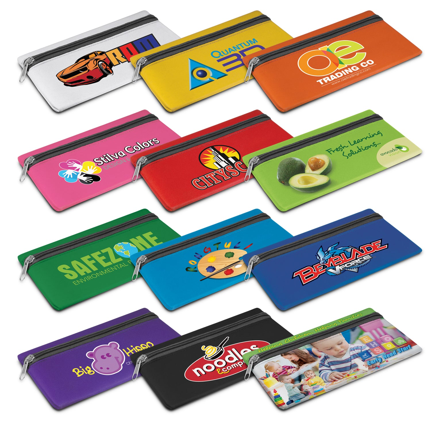 Stock Neoprene Pencil Case(SNB-108T)