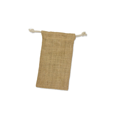 Stock Jute Drawstring Bag-Small(SJB-10T) - greenpac.com.au
