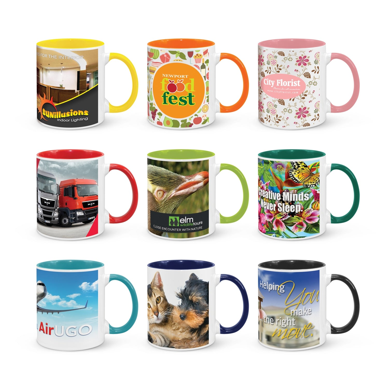 Full Colour Branding Coffee Mug (SDW-127T)