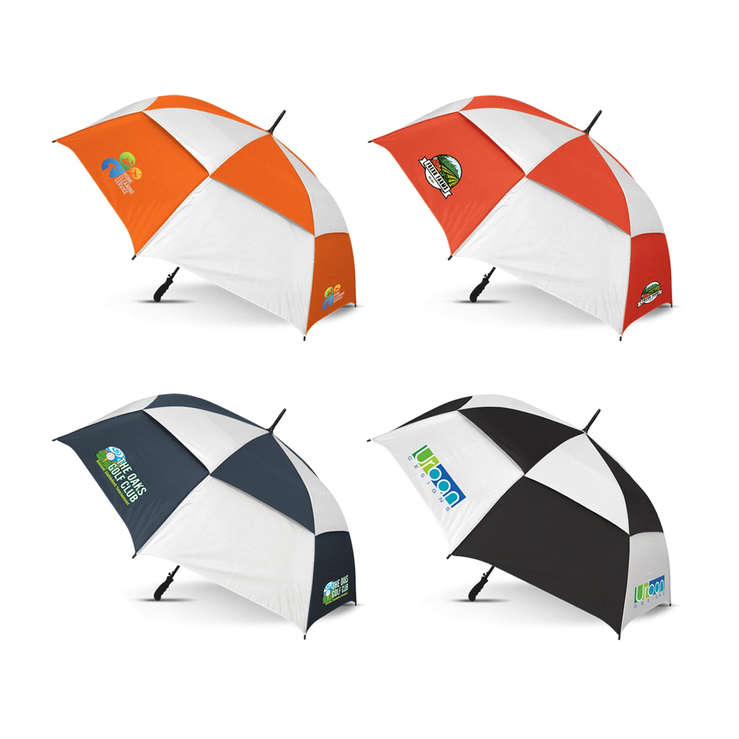 Windproof Sports Umbrella- Checkmate(SUM-12T) - greenpac.com.au