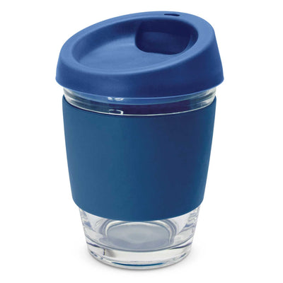 Reusable Glass Coffee Cup (SDW-89) - greenpac.com.au