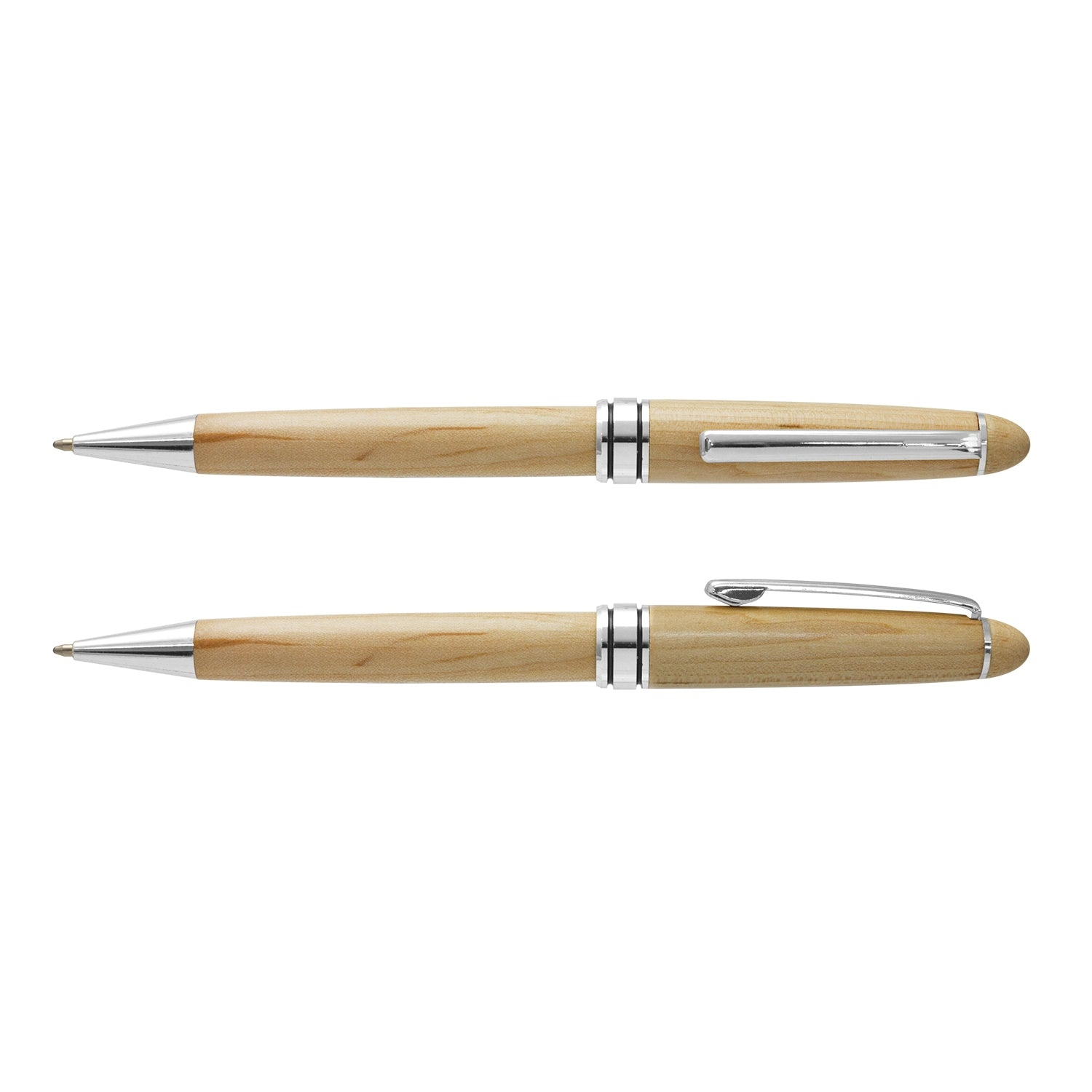 Stock Supreme Wood Pen(SP-54T) - greenpac.com.au