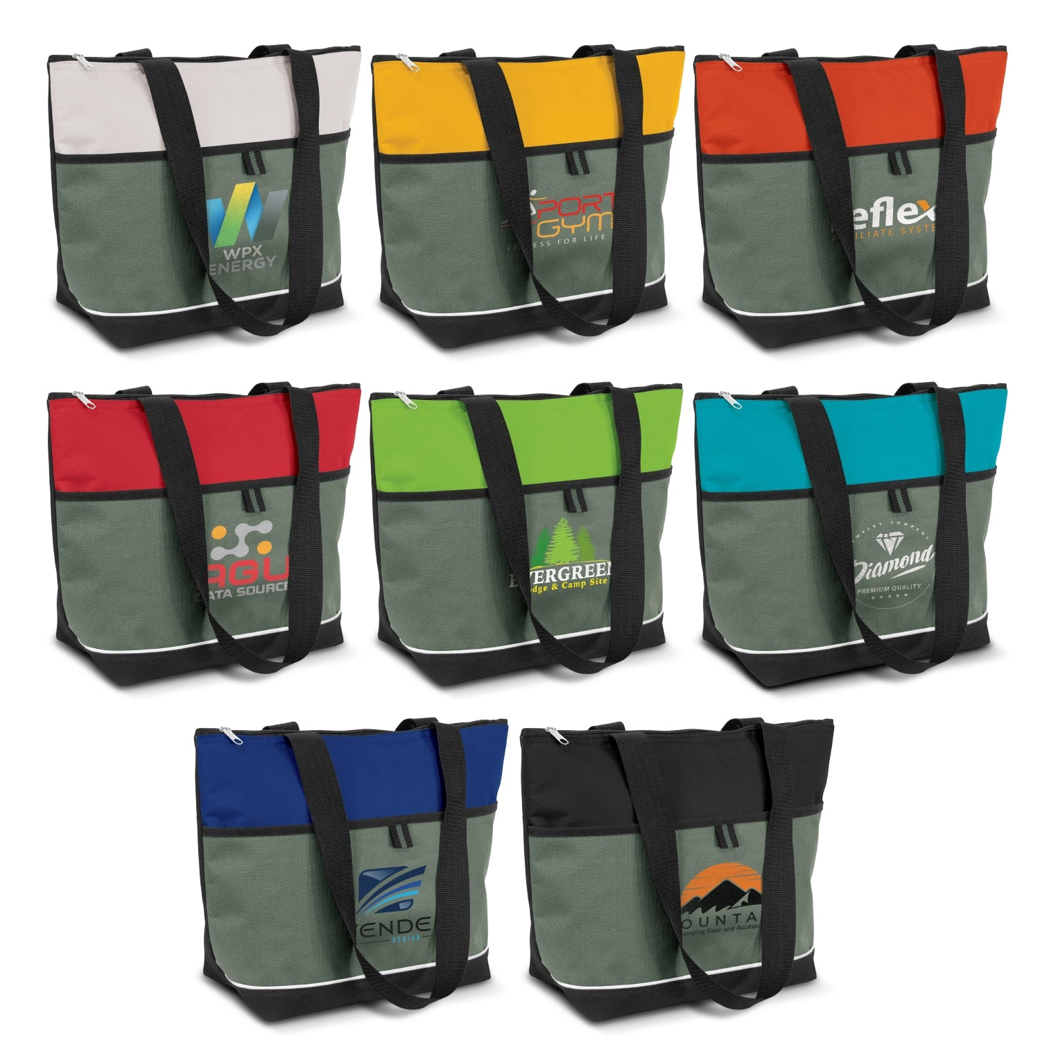Stock Nylon Cooler Tote(SNB-80T) - greenpac.com.au