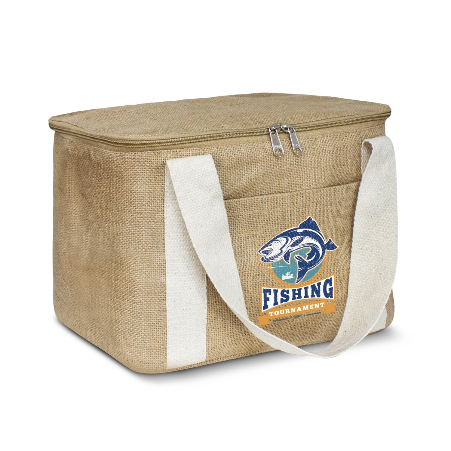Stock Jute Cooler Bag-Medium (SNB-76T)