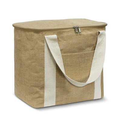 Stock Jute Cooler Bag-Large (SNB-77T)