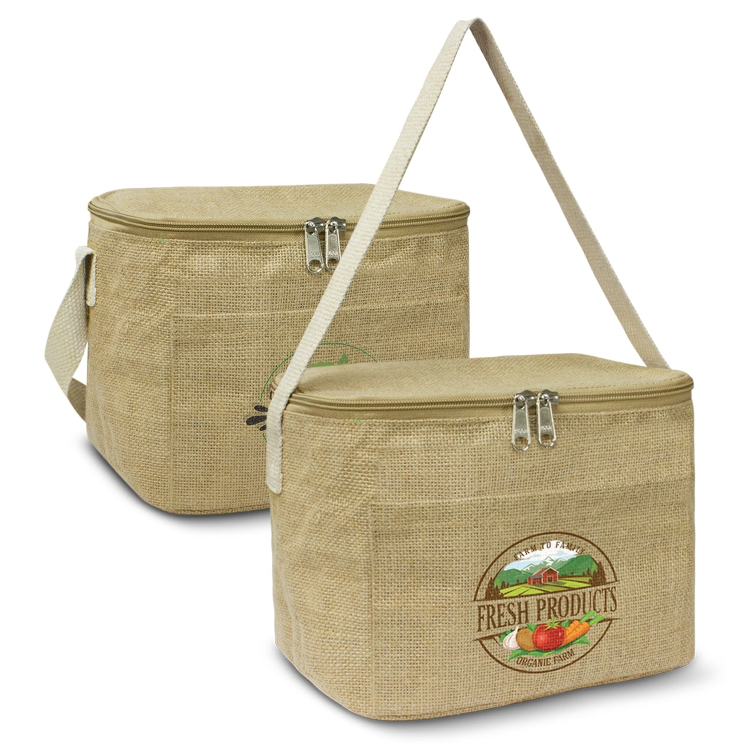Stock Jute Cooler Bag-Small(SNB-78T)