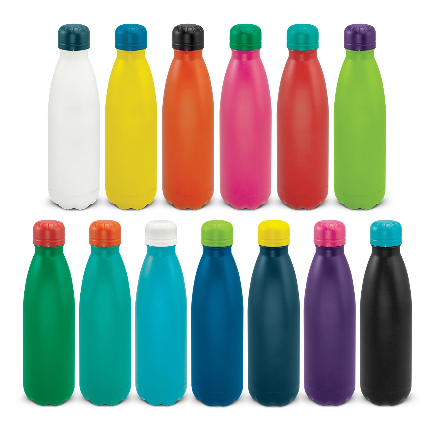Powder Coated Vacuum Bottle (SDW-126T) - greenpac.com.au