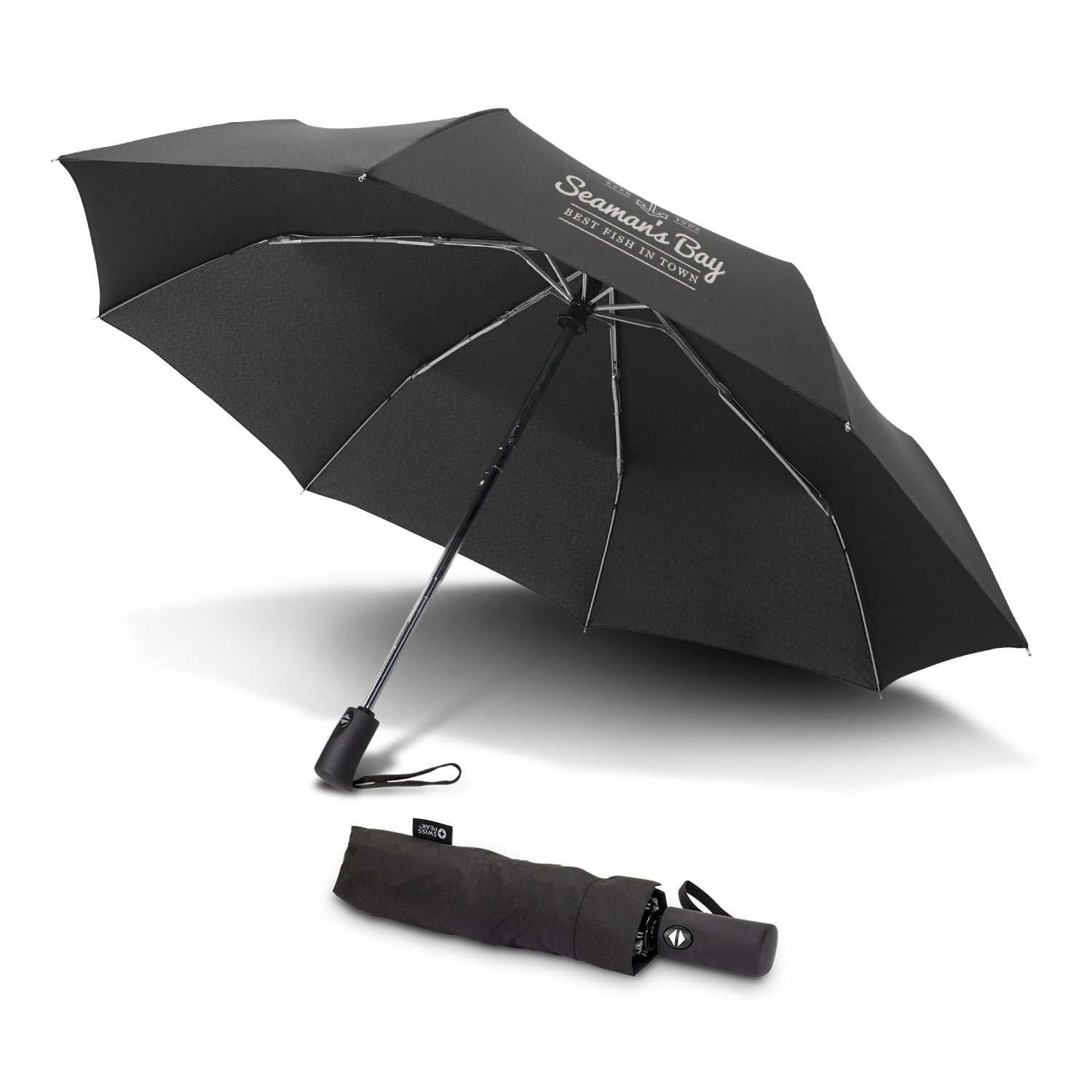 Premium Swiss Peak Foldable Umbrella(SUM-17T) - greenpac.com.au