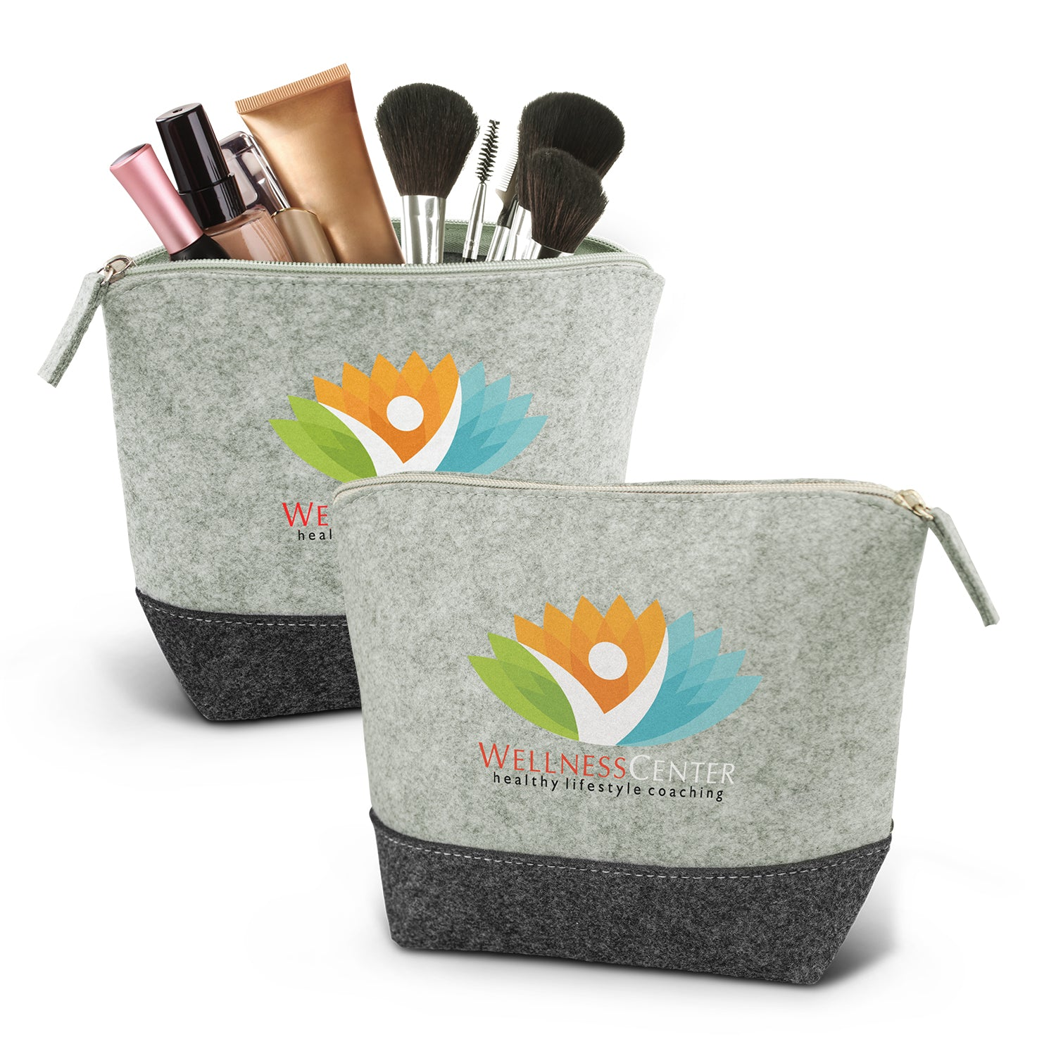 Stock Felt Cosmetic Bag(SFB-06T)