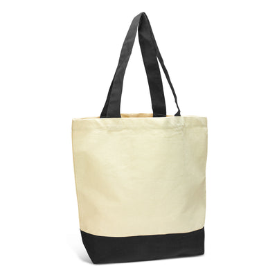 Stock Two Tone Cotton Tote(SCB-33T)