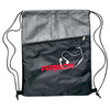 Stock Silver Strider Nylon Tech Backpack(SNB-63H)