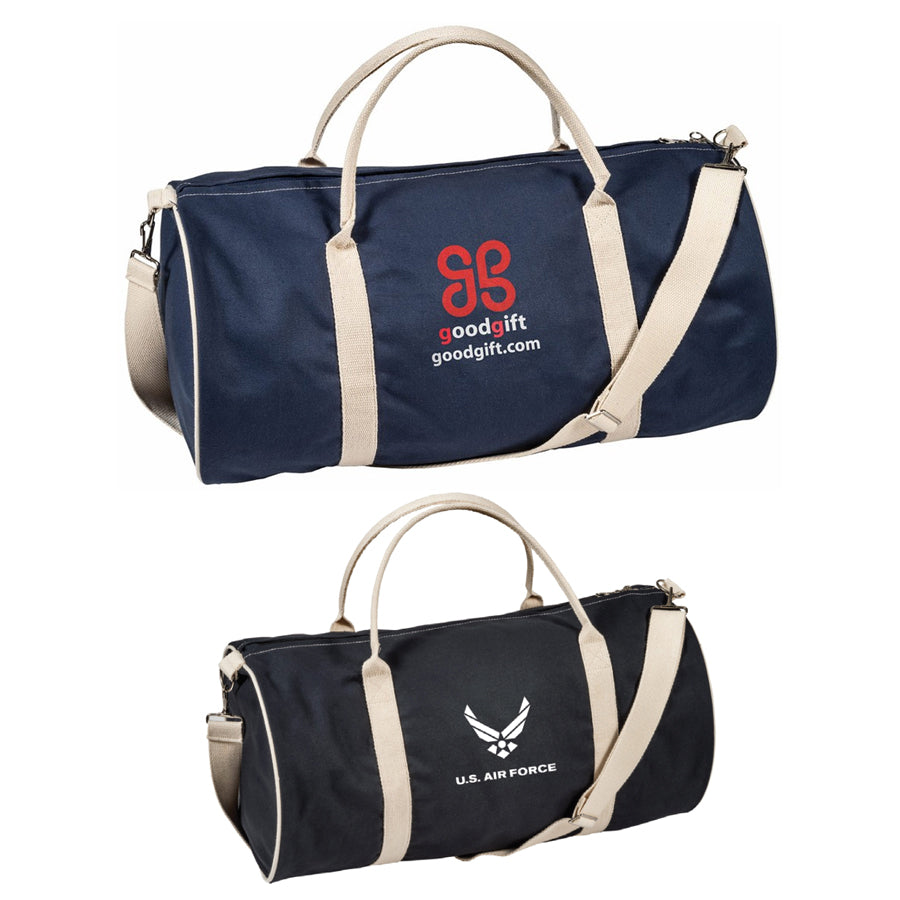 Stock Cotton Duffle Bag(SCB-34H) - greenpac.com.au