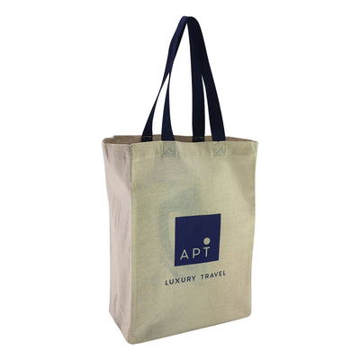 Stock Coloured Handle Calico Bag(SCB-15D)