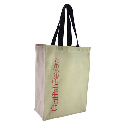 Stock Coloured Handle Calico Bag(SCB-15D) - greenpac.com.au