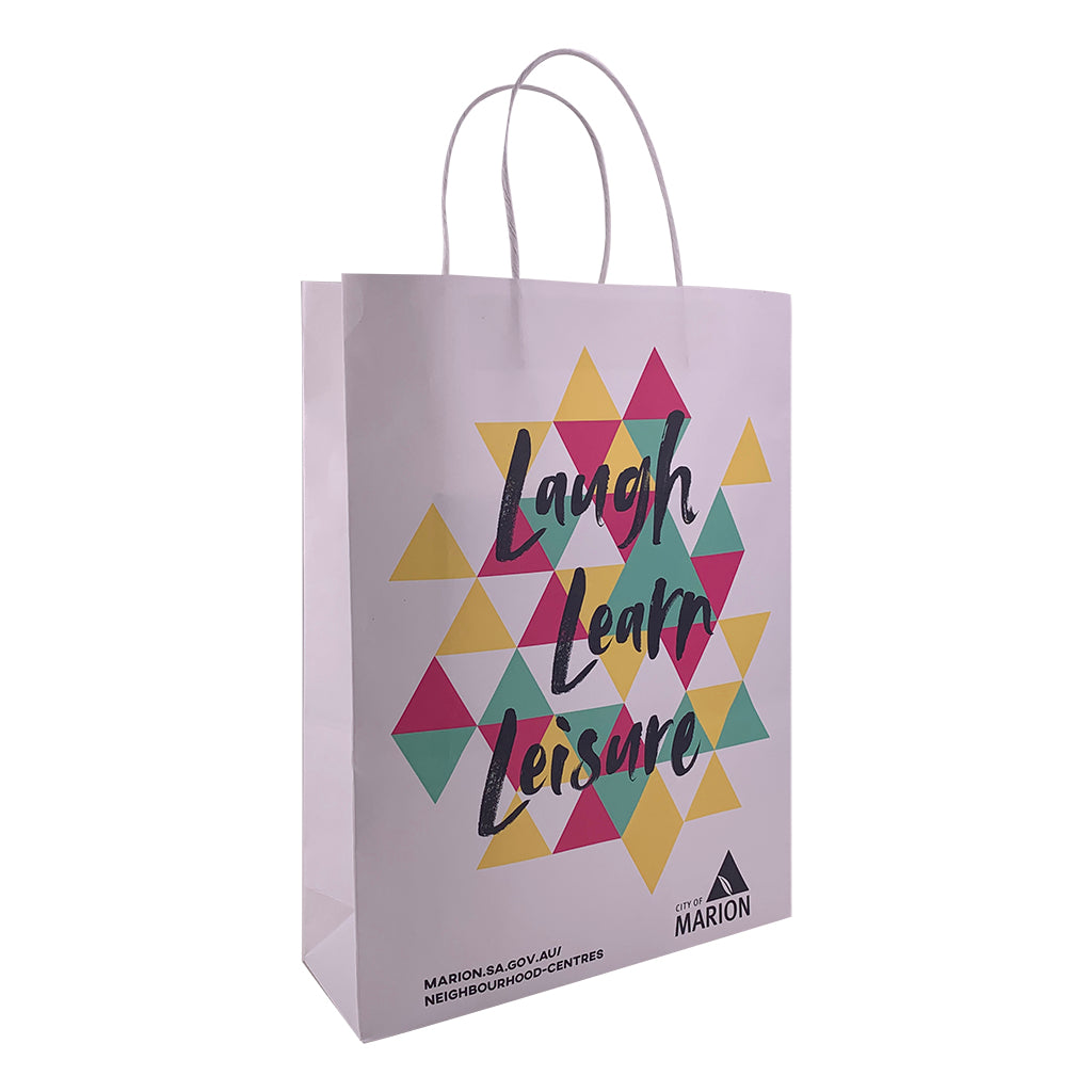 Kraft Paper Medium Bag-Coloured(KP-13) - greenpac.com.au