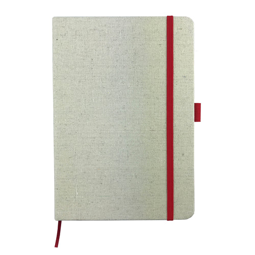 Cotton Cover A5 Notebook(SNBS-28D) - greenpac.com.au