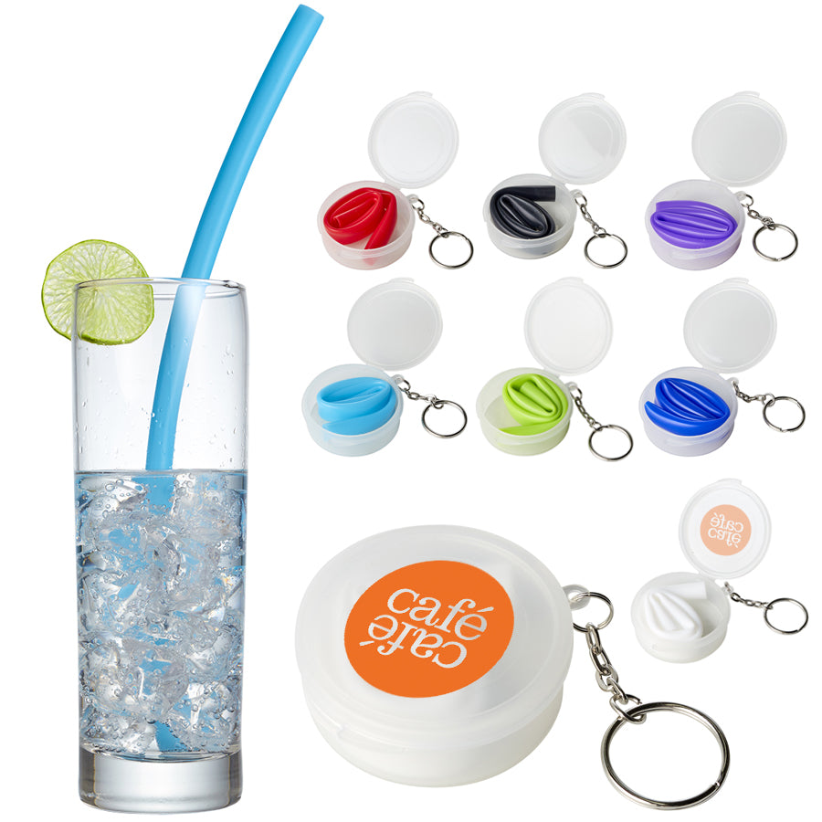 Reusable Silicone Straw With Cases(SDW-106H)