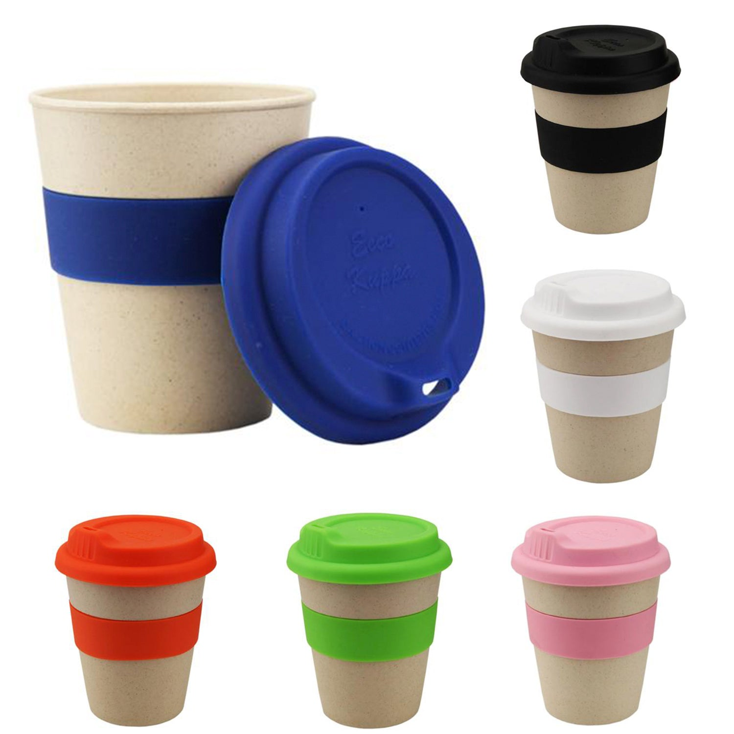 Bamboo Reusable Coffee Cup(SDW-110D) - greenpac.com.au