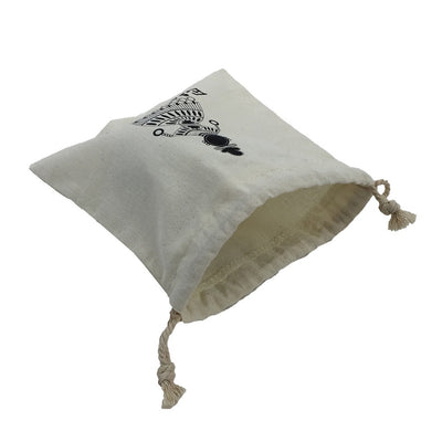 Calico Small Drawstring  Bag(CA-07) - greenpac.com.au