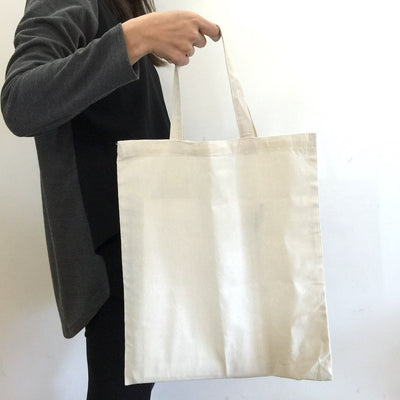 Stock Calico Tote Bag with Short Handle(SCB-05) - greenpac.com.au