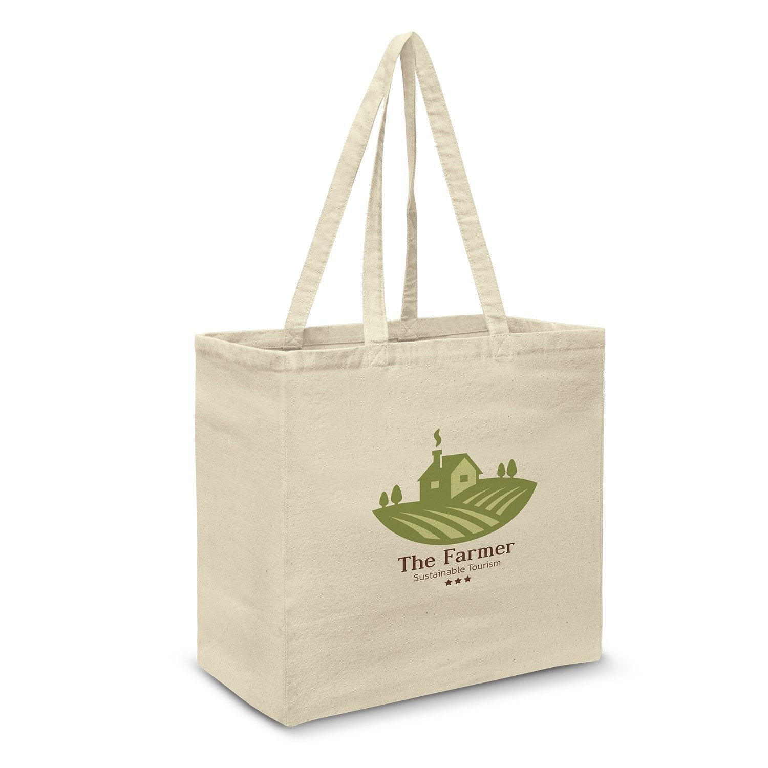 Stock Cotton Supermarket Bag(SCB-21T) - greenpac.com.au