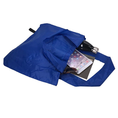 Calico Bag - Stock Nylon Foldable Tote(SNB-18)