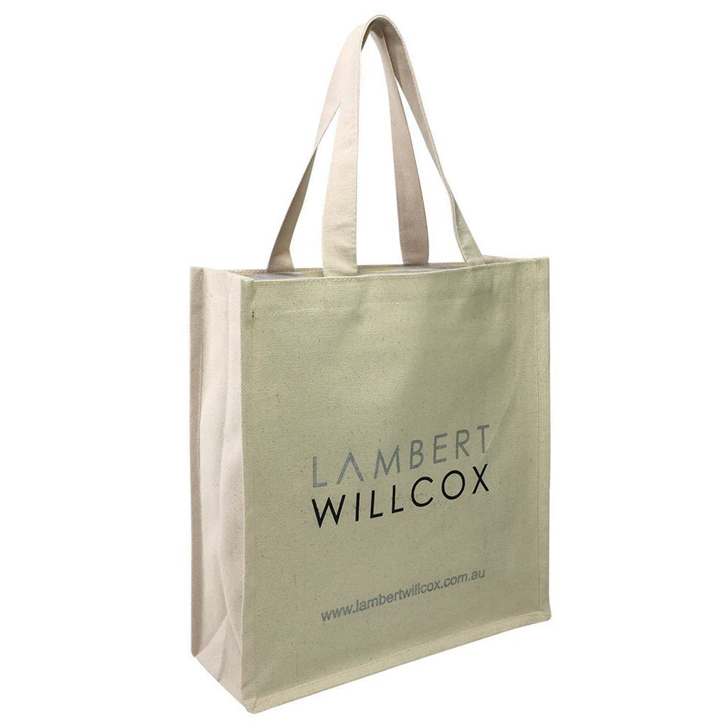 Stock Thick Canvas Bag(SCB-16D) - greenpac.com.au