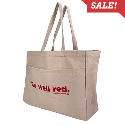 Calico Bag - Stock Thick Canvas Shopper(SCB-17D)