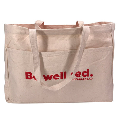 Stock Thick Canvas Shopper(SCB-17D) - greenpac.com.au