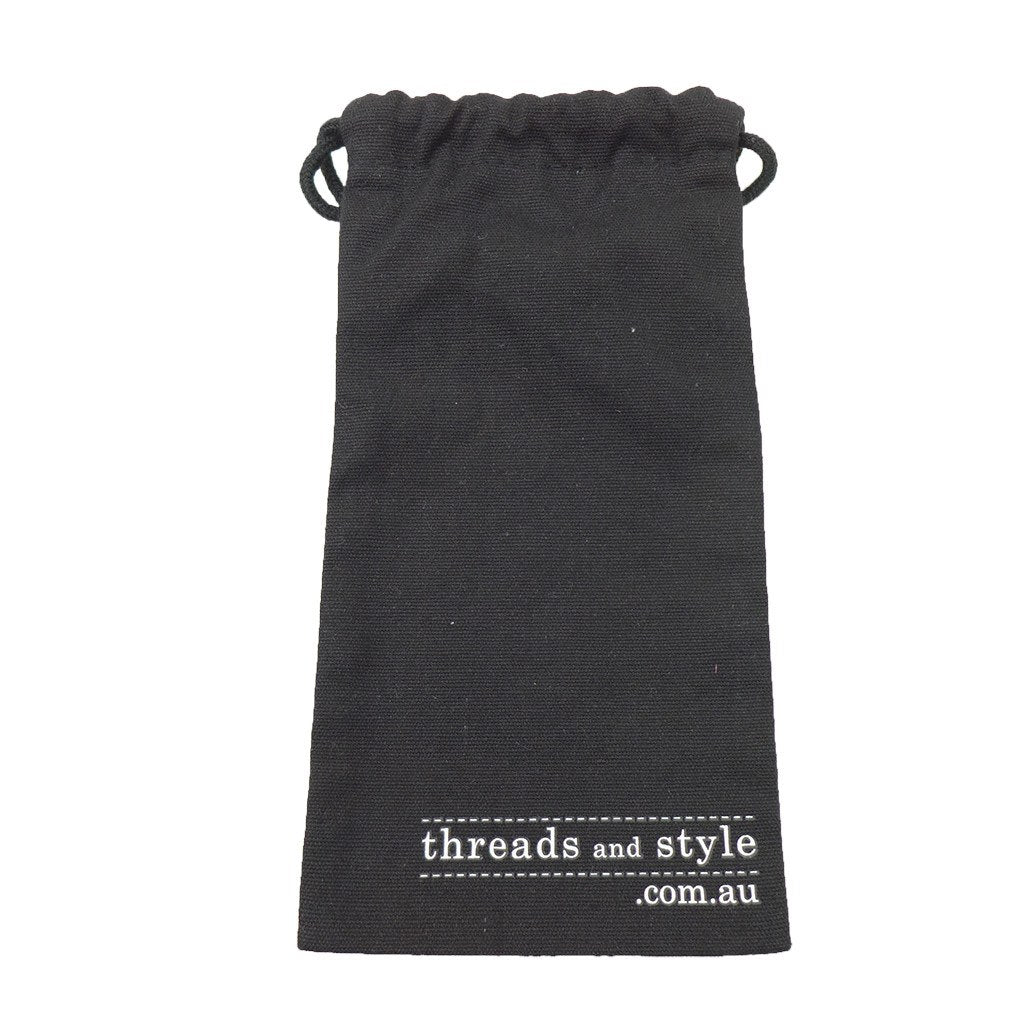 Cotton Drawstring Long Pouch-Mini(CB-19) - greenpac.com.au