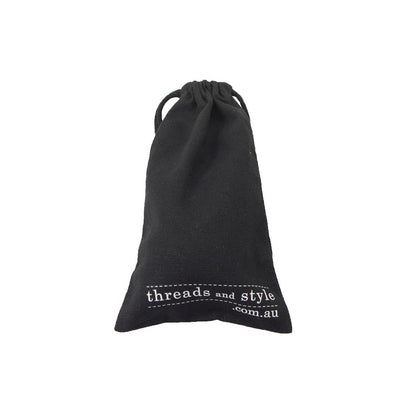 Cotton Drawstring Long Pouch-Mini(CB-26) - greenpac.com.au
