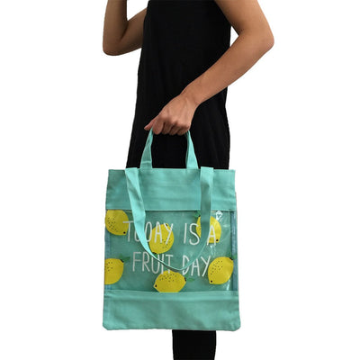 Cotton+PVC Double Handles Bag(CB-20) - greenpac.com.au
