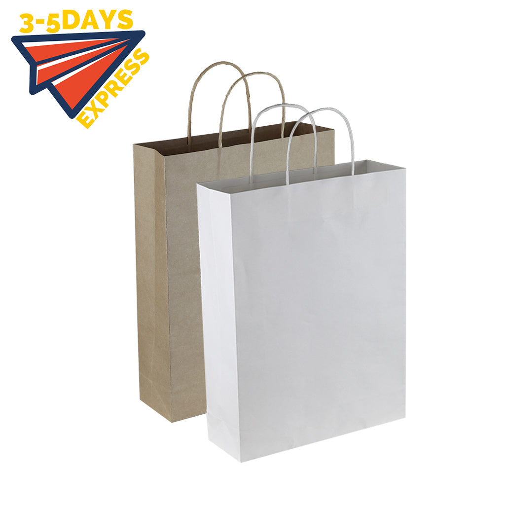 Stock Kraft Paper Trade Show Bag(SKP-02D)