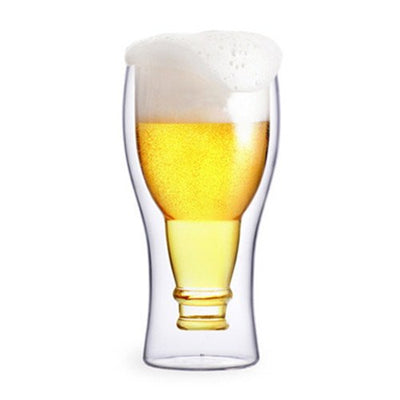 Double Walled Beer Glasses (SDW-28) - greenpac.com.au