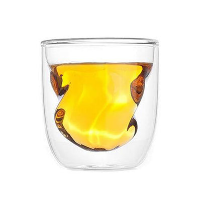 Double Walled Twist Glasses(SDW-27) - greenpac.com.au