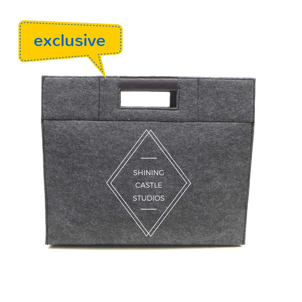 Felt Document Bag-Medium(FB-07) - greenpac.com.au