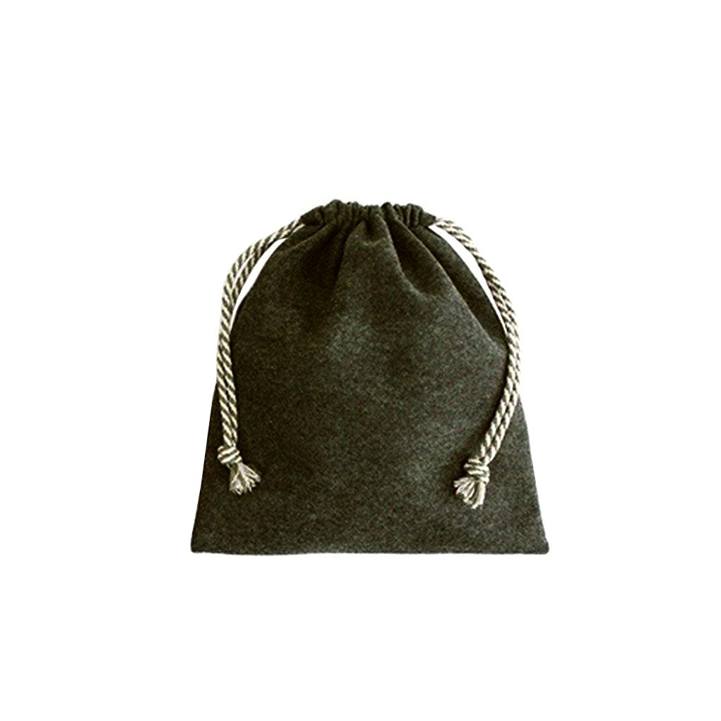 Felt Drawstring Bag-Medium(FB-18) - greenpac.com.au