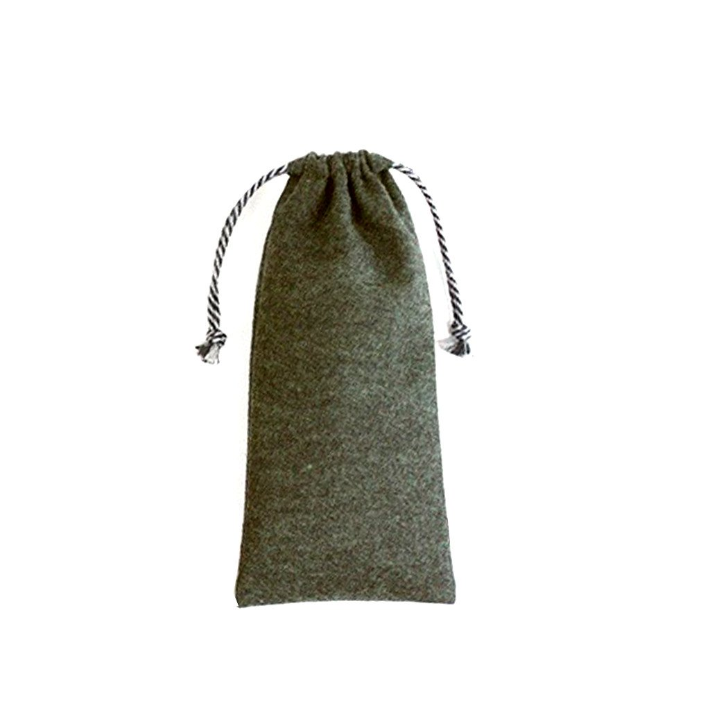 Felt Drawstring Long Pouch(FB-20) - greenpac.com.au
