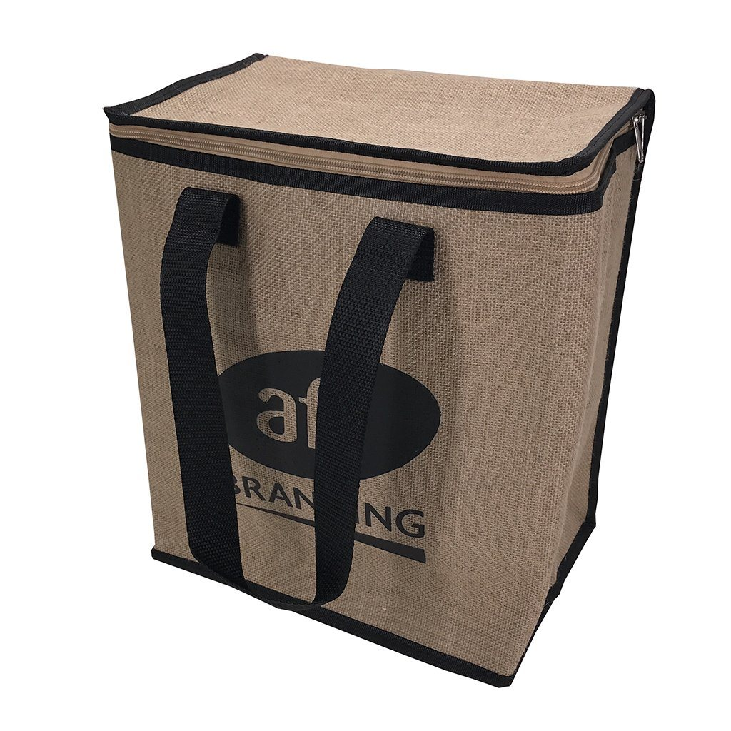 Jute Large Cooler Bag(JB-12) - greenpac.com.au