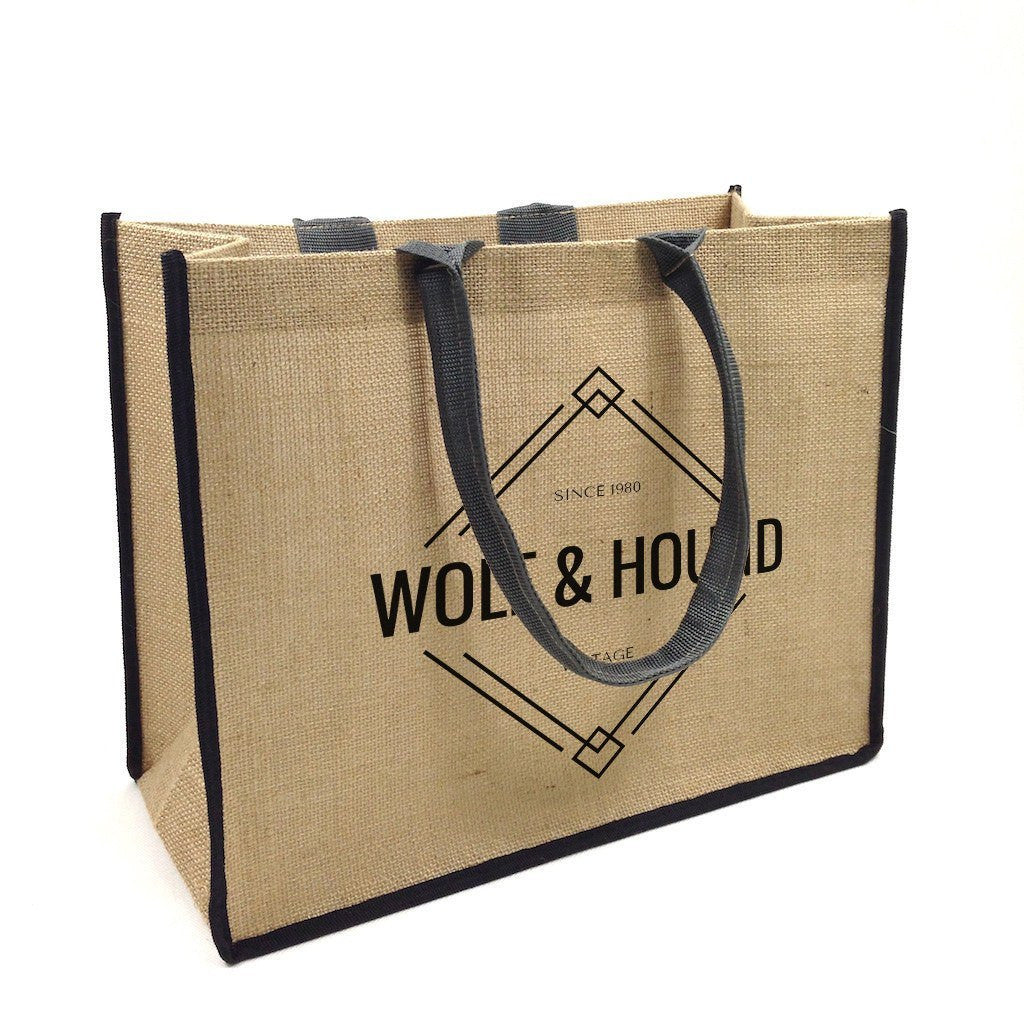 Jute Shopping Bag-Landscape(JB-01) - greenpac.com.au