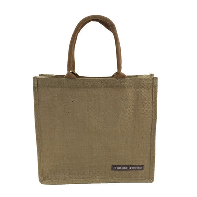 Jute Square Show Bag(JB-13) - greenpac.com.au