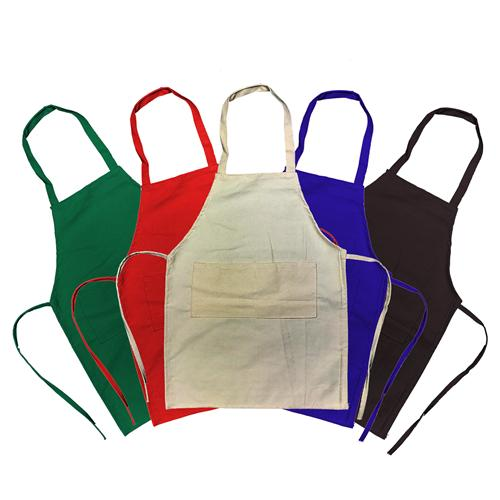Kids Cotton Apron(SCT-02D) - greenpac.com.au