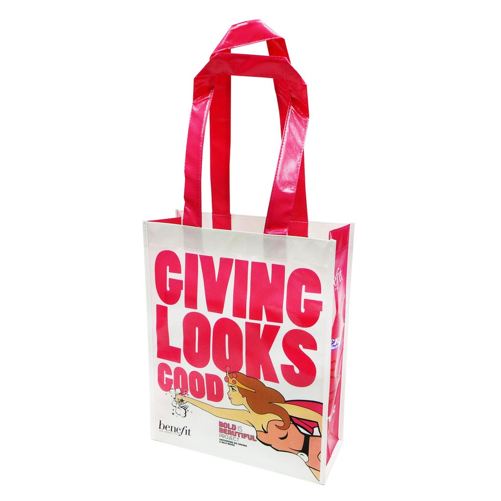 Laminated Portrait Show Bag(LB-01) - greenpac.com.au