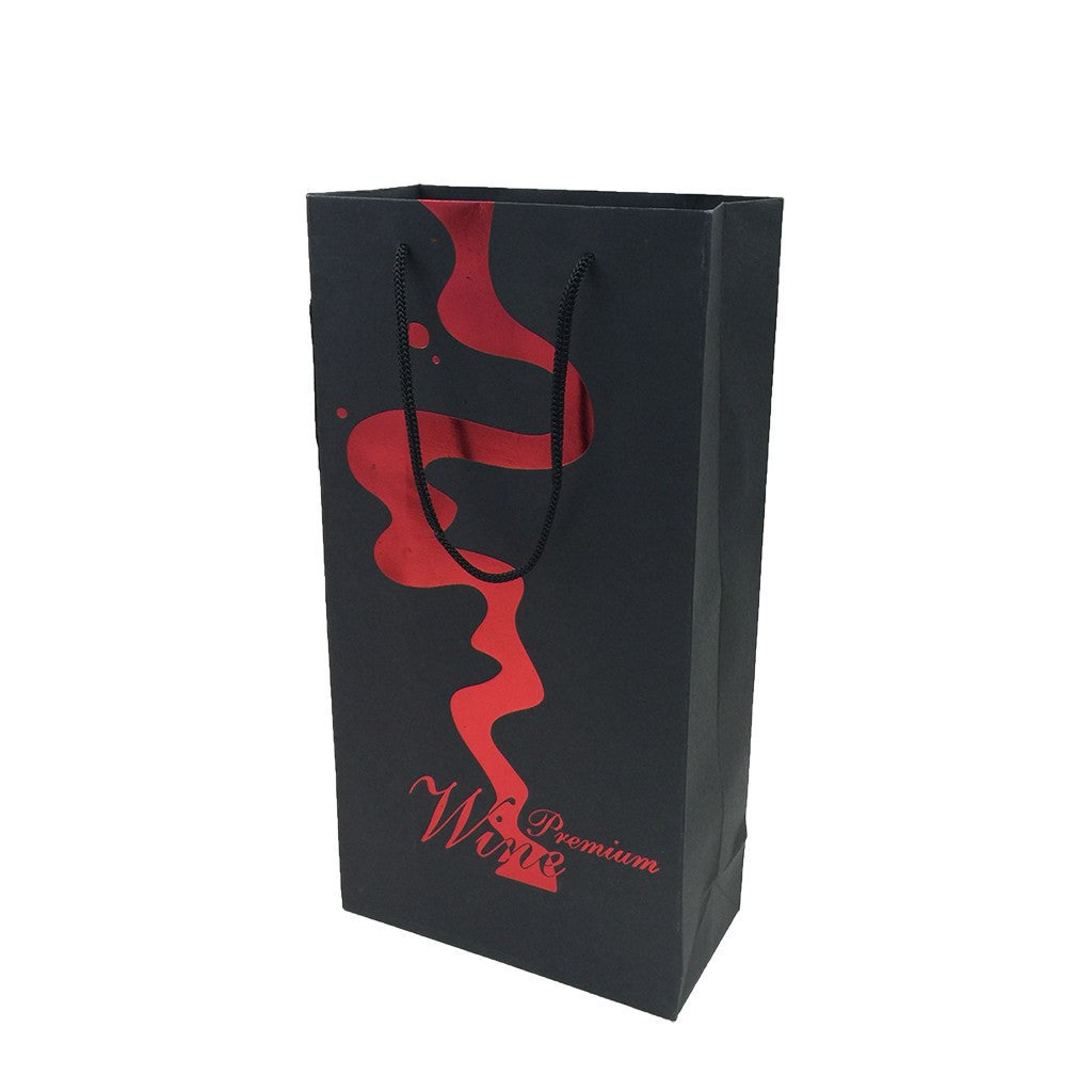 2 Bottle Wine Paper Bag(LP-12) - greenpac.com.au