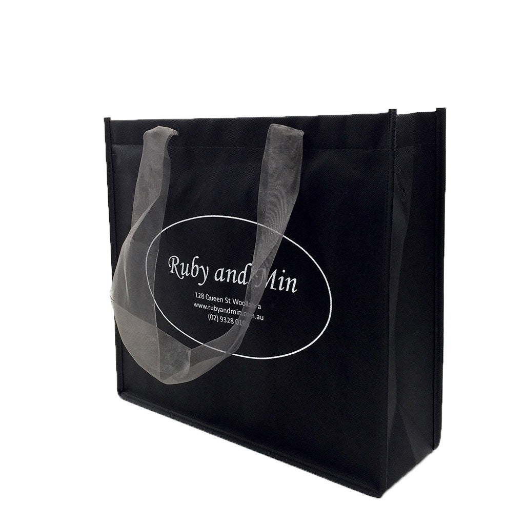 NWPP Boutique Bag With Ribbon Handle(NW-2014) - greenpac.com.au